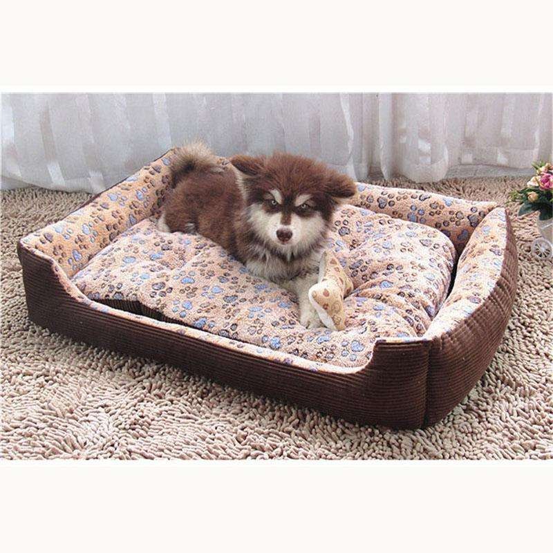 www.peterspetsupplies.com:Top Quality Large Breed Dog Bed Sofa Mat House 3 Size Cat Pet Bed House for large dogs Big Blanket Cushion Basket Supplies HP789
