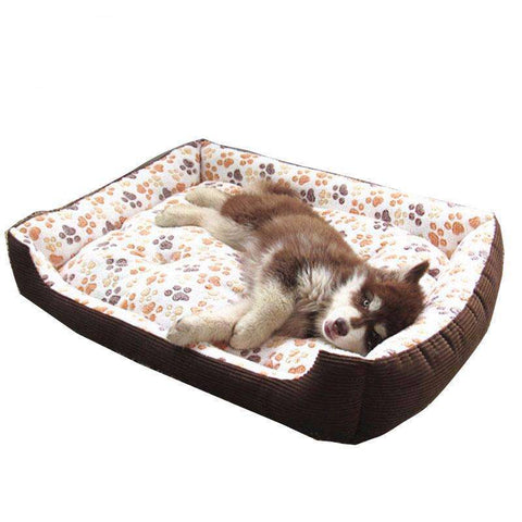 Top Quality Dog Bed Many Sizes Three Colors Removable/Washable - www.peterspetsupplies.com