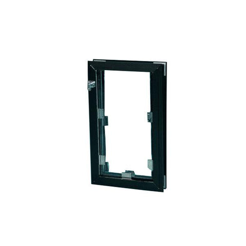 Image of Hale Pet Door - Door Mounted Cat & Dog Door - www.peterspetsupplies.com