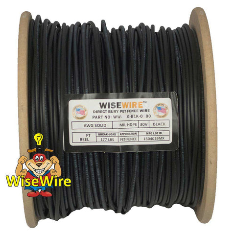 WiseWire® 14g Pet Fence Wire 1000ft - www.peterspetsupplies.com