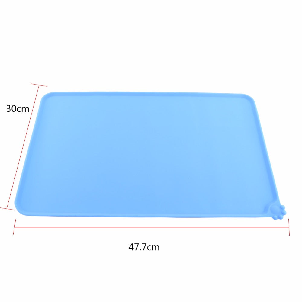 Pet Food Feeding Place Mat  Four Colors - www.peterspetsupplies.com