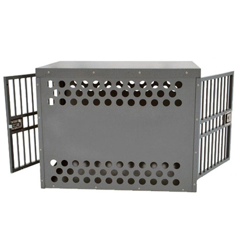 Zinger Deluxe Series Double Door Dog Crate