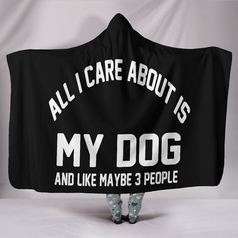Image of Dog Care Hooded Blanket - www.peterspetsupplies.com