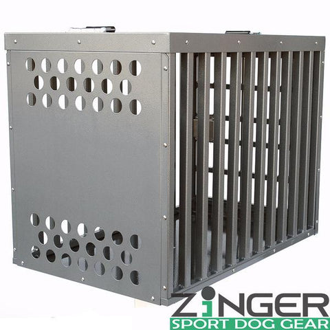 Zinger Heavy Duty Series Front Entry Dog Crate - www.peterspetsupplies.com
