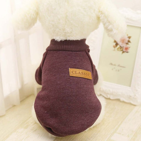 Image of Pet Dog Clothes Chihuahua Winter Warm Cotton Cat Hoodies Sweatshirt Pet Coat Jacket Clothes for dogs roupas para cachorro - www.peterspetsupplies.com