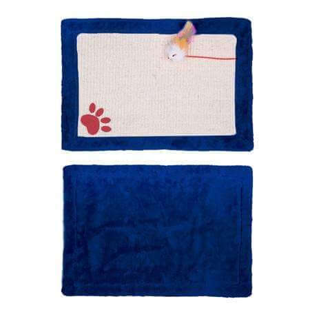 Cat Scratching Mat With Toys
