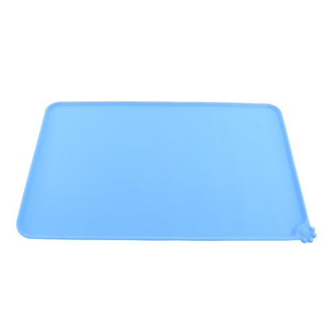 Image of Pet Food Feeding Place Mat  Four Colors - www.peterspetsupplies.com