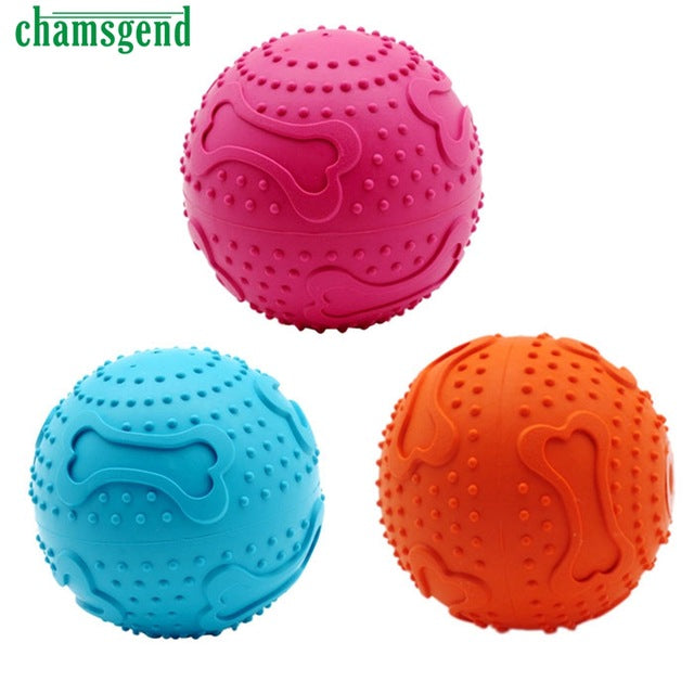 Rubber Pinballs for Dogs