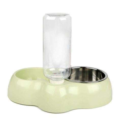 Multifunction Dog Bowl / Water Feeder With Bottle - www.peterspetsupplies.com