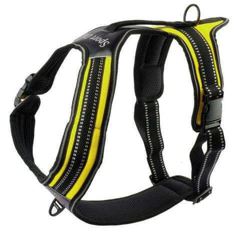 Nylon No-Pull Dog Harness Reflective Outdoor Vest w/ Handle For Medium Large Dogs - www.peterspetsupplies.com