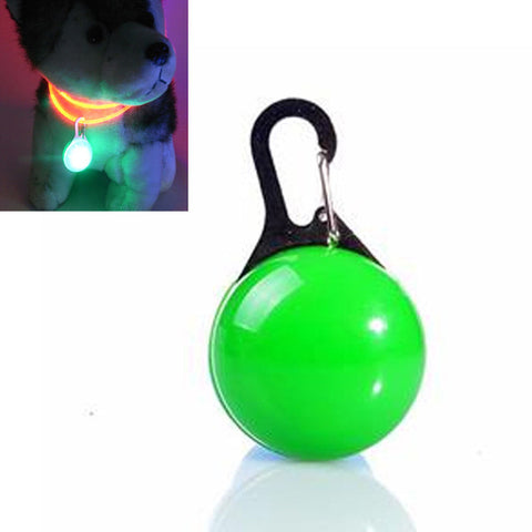Image of LED Flashing ID Tag Safety Pendant For Cats and Dogs - www.peterspetsupplies.com