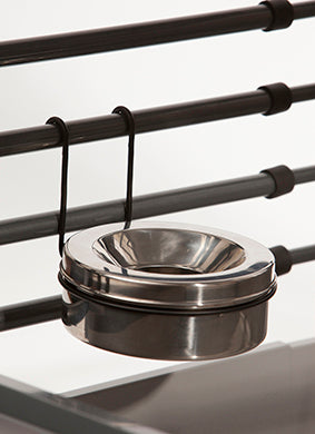 MIM Safe - Water Bowl - Stainless Steel - www.peterspetsupplies.com
