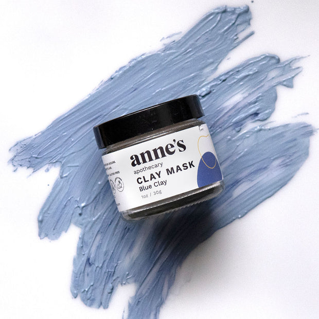 Clay Mask with Blue Clay 1