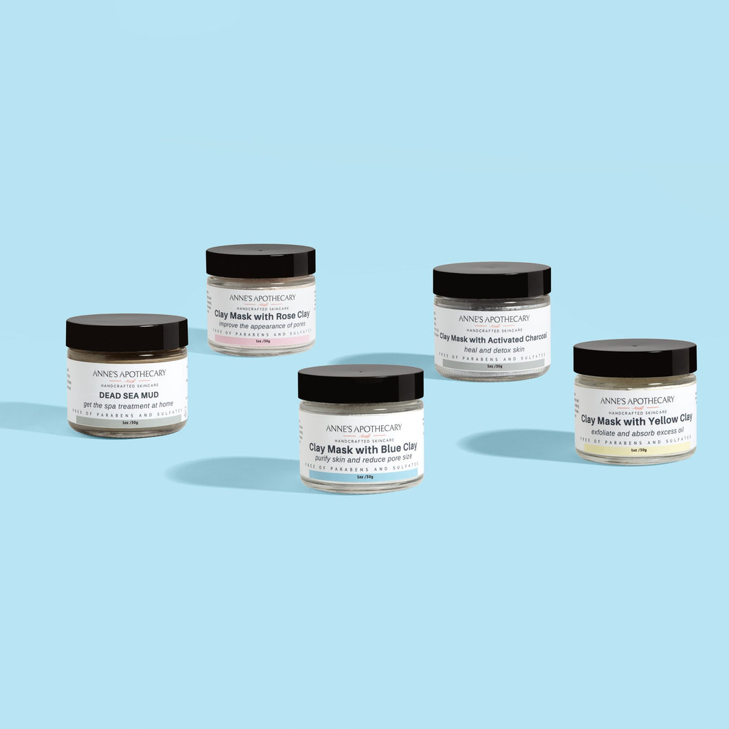 Sample Clay Mask Set - Anne's Apothecary