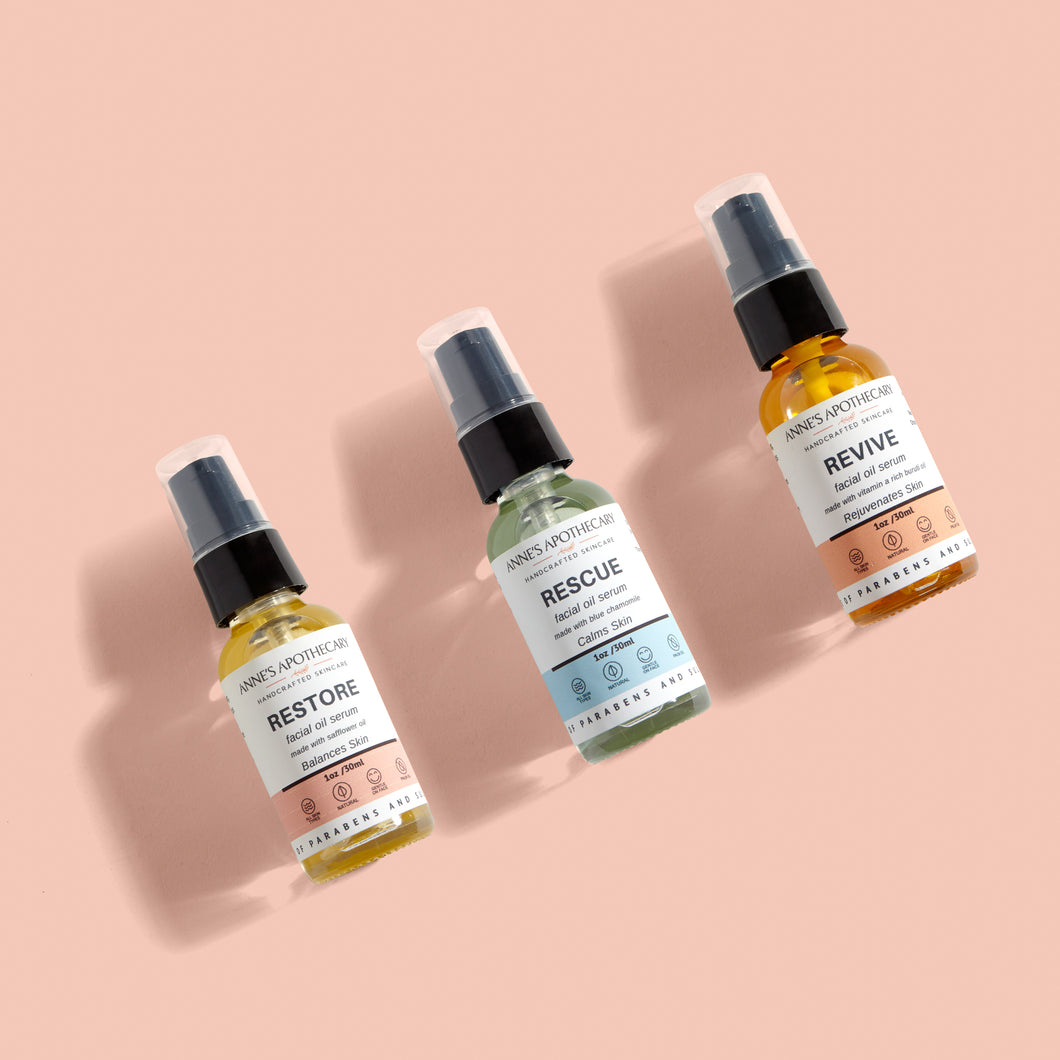 Facial Oil Serum Set