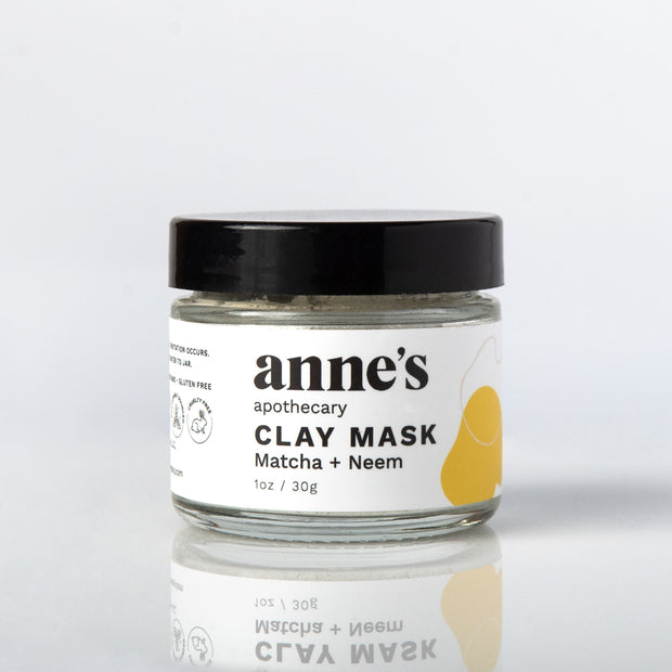 Clay Mask with Matcha and Neem powder 1