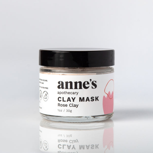 Clay Mask with Rose Clay 1