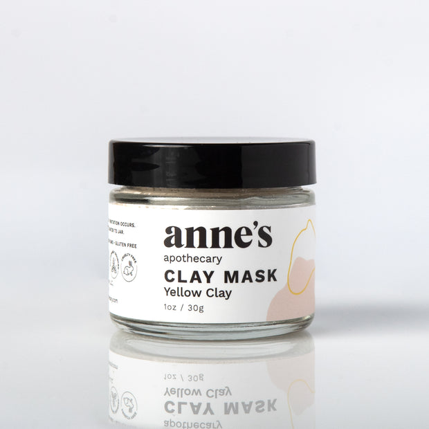 Clay Mask with Yellow Clay 1