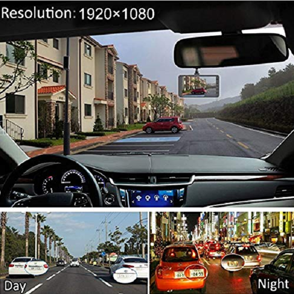 Springdoit 4-inch High-definition Night Vision Driving Recorder, Car Dvr Driving Recorder, Durable D