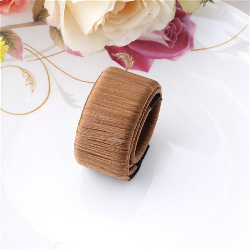 Hair Accessories Brown Magic-Bun™ DIY French Twist Bun Maker