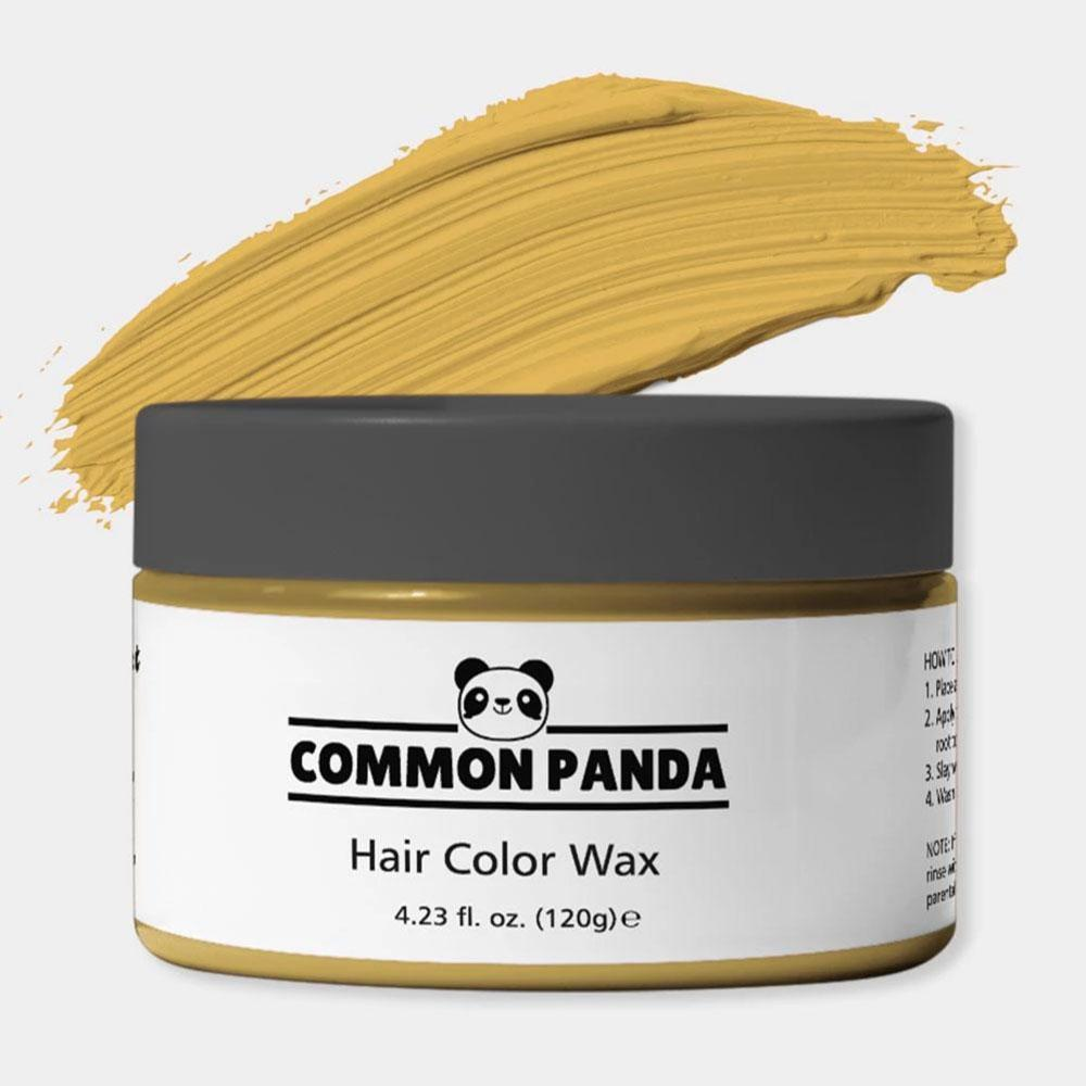 Golden Orange Hair Color Wax