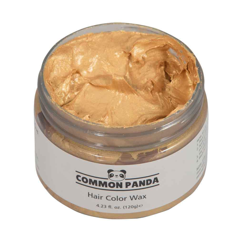 Hair Color Golden Orange Hair Color Wax - Common Panda