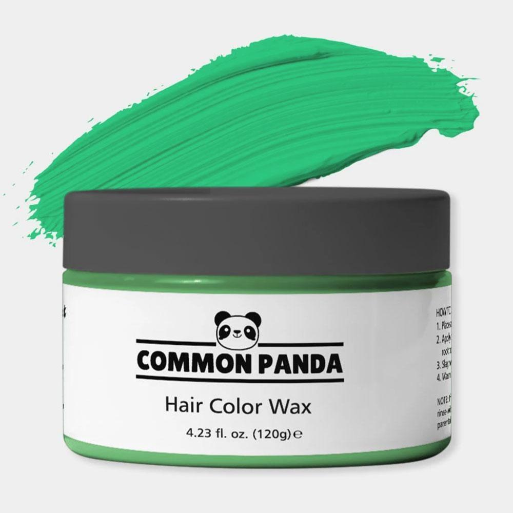 Green Hair Color Wax