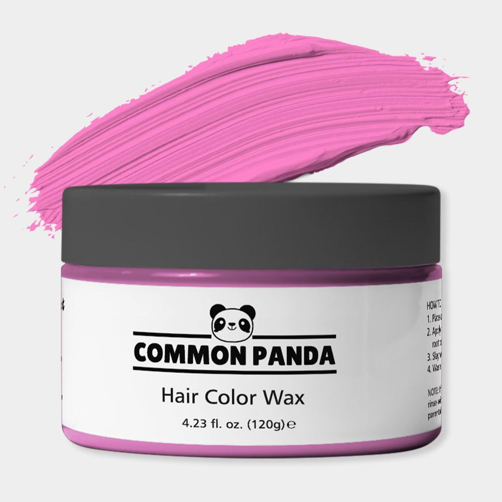Pink Hair Color Wax
