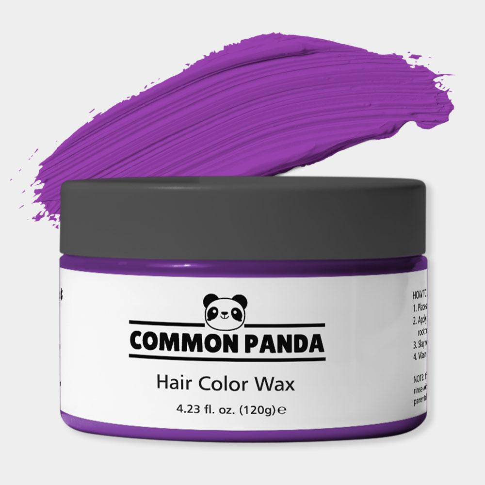 Purple Hair Color Wax
