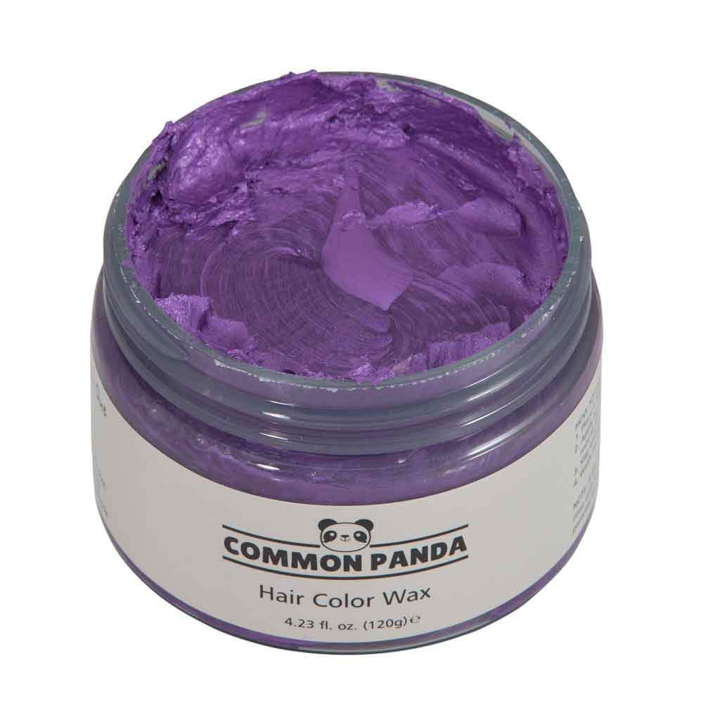 Hair Color Purple Hair Color Wax - Common Panda