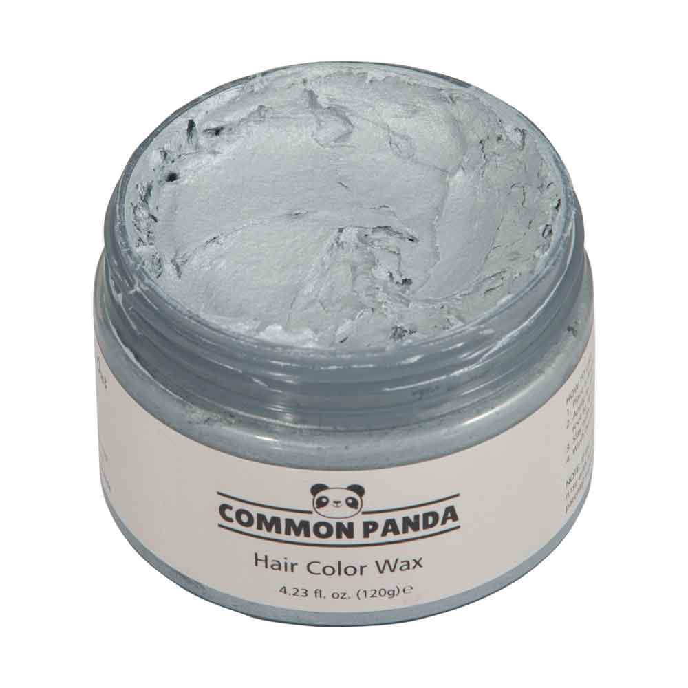 Hair Color Silver Hair Color Wax - Common Panda