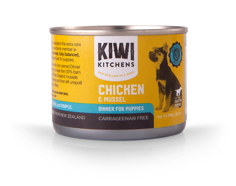 Puppy Chicken and Mussel Dinner 170g Tray of 24