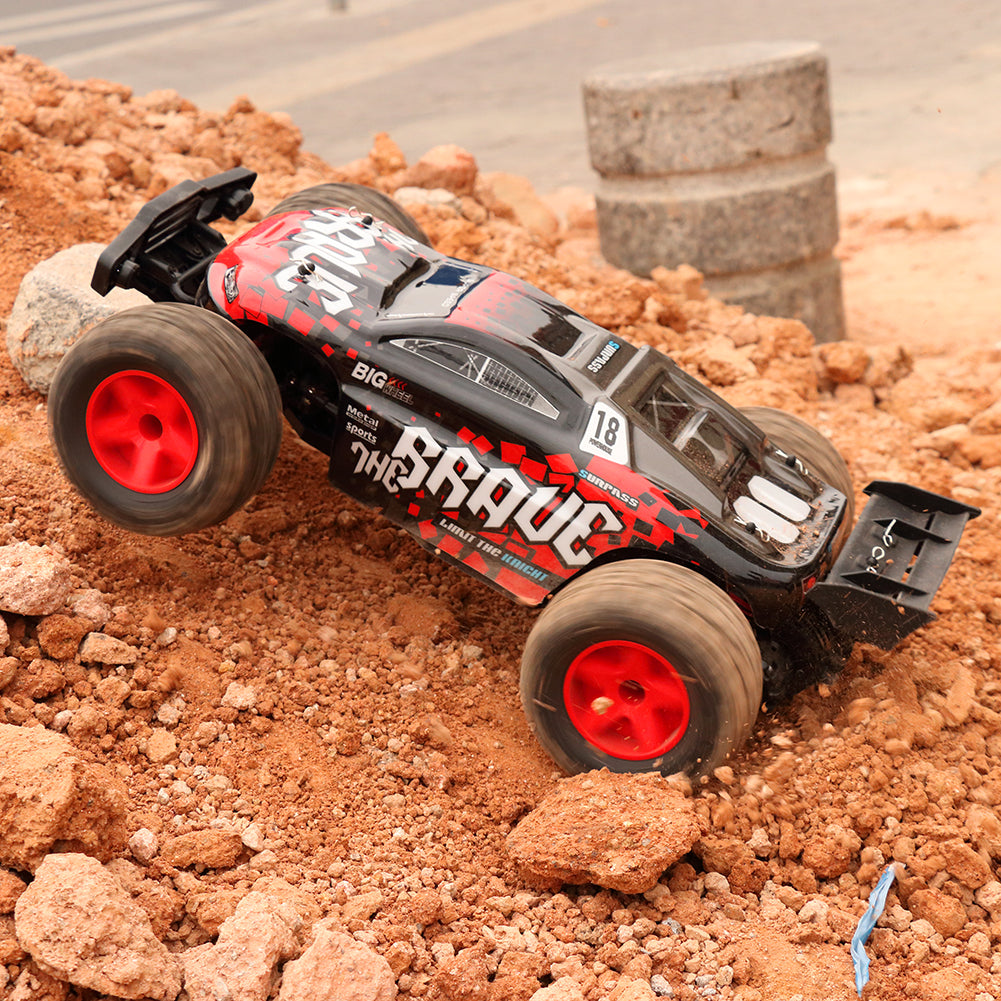 Rolytoy All Terrain RC Car-Red