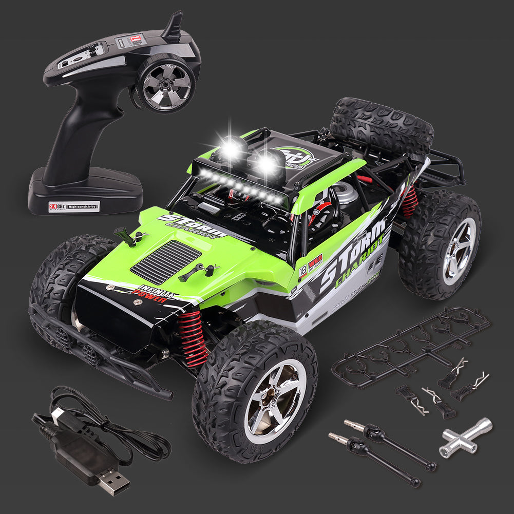 Rolytoy All Terrain RC Car (Green)