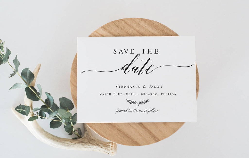 Save The Date Editable Template Diy Shower Template Pdf Save The