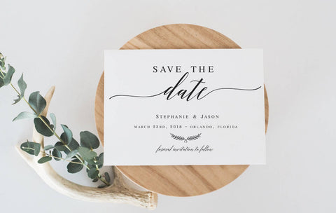 gold future mr and mrs save the date template diy shower template