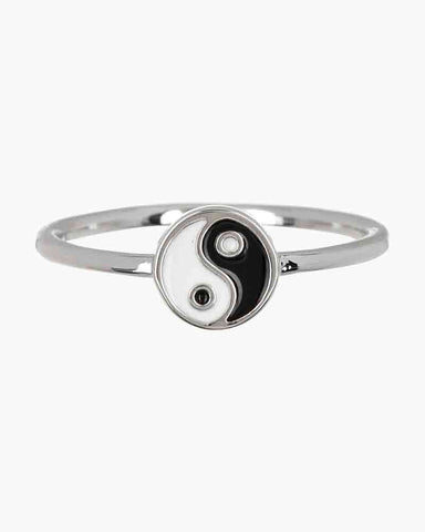 Pura Vida Ying and Yang Ring