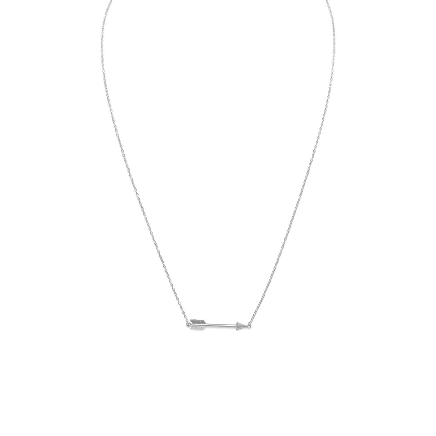 Aim High Arrow Necklace
