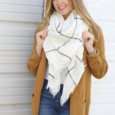 Blanket Scarf Collection - Mountain Peak