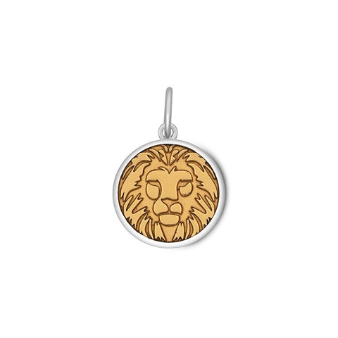 Lion Pendant - Small in Gold Vermeil