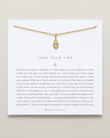 Bryan Anthonys Find Your Fire Necklace