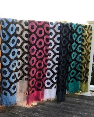 'Evil Eye' Bamboo Scarves Made in Italy