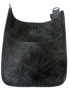 Ahdorned Vegan Leather Crossbody Mini Size Messenger- Strap not included - Various Colors