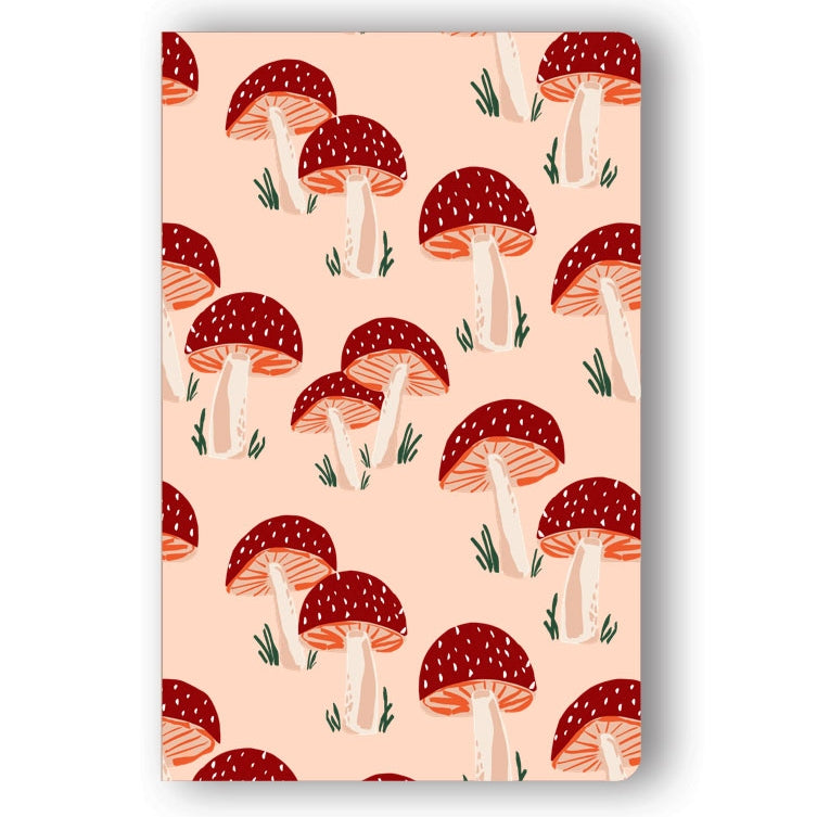 Peach Mushrooms Classic Layflat Notebook