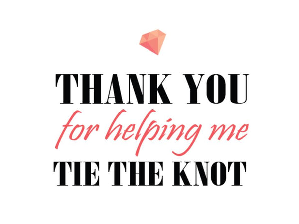 'Tie The Knot' Sticker