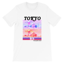 Load image into Gallery viewer, Dreaming In Tokyo T-Shirt | Japan t-shirt, traveling to japan, travel tee, asian tshirt, anime shirt, japan, otaku, geek