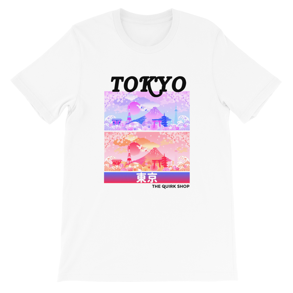 Dreaming In Tokyo T-Shirt | Japan t-shirt, traveling to japan, travel tee, asian tshirt, anime shirt, japan, otaku, geek