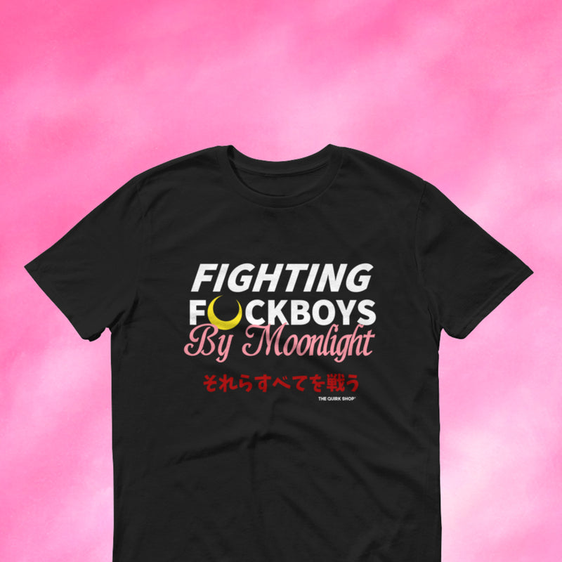 Fighting F Boys By Moonlight Tee