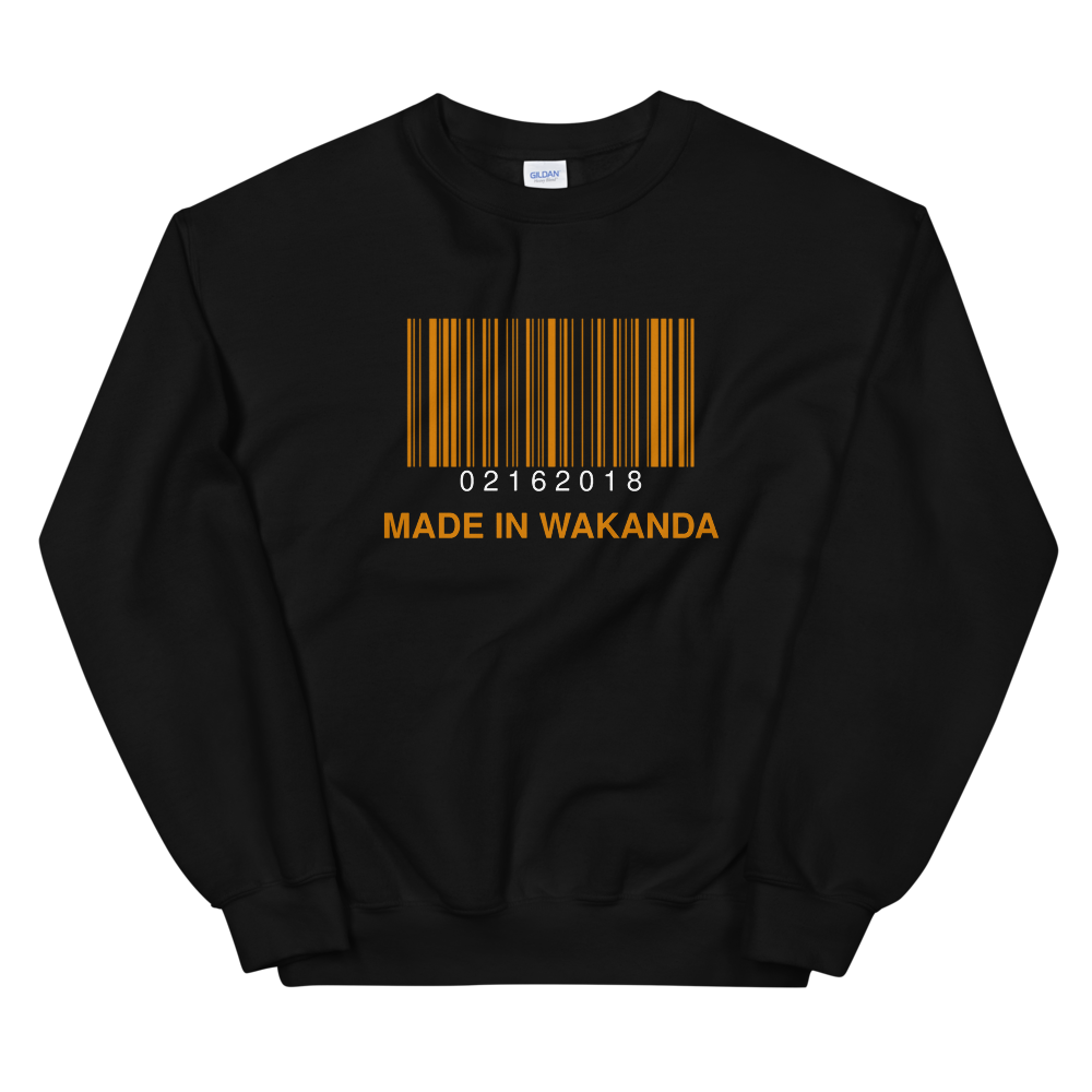 Made In Wakanda Crewneck