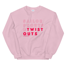 Load image into Gallery viewer, Sailor Scouts & Twist Outs Crewneck Sweater